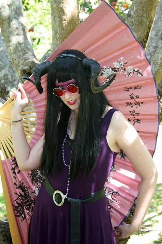 Myself at the cosplay picnic. I did prepare a costume based on a known character so just threw things together to create a character