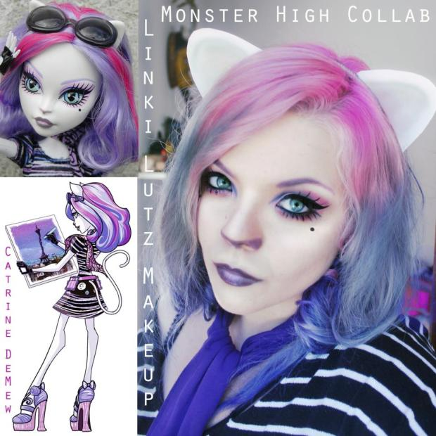 Linki Lutz Makeup's first makeup collab entry. She looks just like Caterine, so gorgeous! Show her page and entry some love