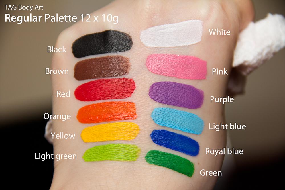 Fab Body Paint Palette